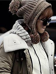 Hou&Tong Fashion Causual Comfortable Knitwear Ski Hat