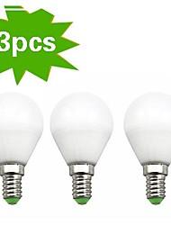 Ampoules Globe Blanc Chaud H+LUX™ Sol E14 7 W 18 SMD 2835 550 LM 2700 K AC 100-240 V