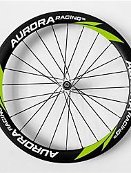 AURORA RACING Road 50T-23mm Full Carbon Tubular Road Bicycle Wheels