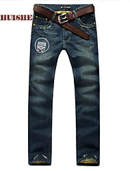Men's Jeans , Casual Pure Denim
