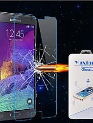 hochwertigem Premium gehärtetem Glas glossy Displayschutz 2.5d 0.26mm für Samsung Galaxy Hinweis4