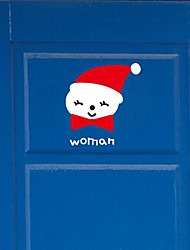 Wall Stickers Wall Decals,  Modern Christmas female snowman PVC Wall Stickers
