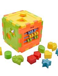 alicerce educacional kit modelo de brinquedos do edifício diy neje
