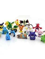 pokemon 24pcs 2-3cm Mini PVC Action-Figur-Set (zufällige Farben)