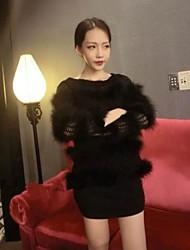 Европейская мода элегантный дешевые пальто nai.si женщин
