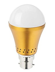 Globe Bulbs , B22 3 W SMD 5730 LM Cool White AC 85-265 V