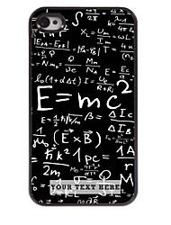 personnalisé cas de téléphone - formule cas design en métal pour iPhone 4 / 4S