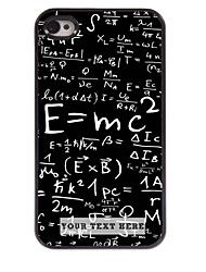 caso de telefone personalizado - fórmula caso design de metal para iPhone 4 / 4S