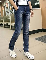 pantalones de mezclilla elásticos de los hombres
