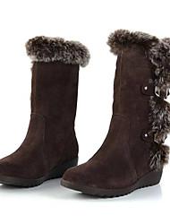 конфетка женские все соответствующие плоский каблук ботинки снега