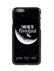 Personalized Phone Case - Take Me to Neverland Design Metal Case for iPhone 6