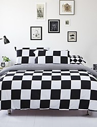 Geometric Polyester 4 Piece Duvet Cover Sets