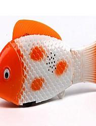 peixe elétrico radiante (cores aleatórias)