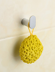 Robe Hook, Contemporary Chorme Brass Wall Mounted