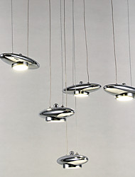 4W Modern/Contemporary / Traditional/Classic LED / Bulb Included Metal Flush Mount Living Room / Bedroom