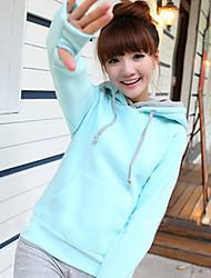 Women's Hoodie Coat Warm Sweater Outwear Hooded Pullover