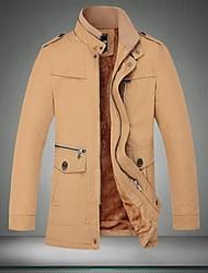 CHUN ZHENG Men's Fashion Stand Collar Jacket_2190B