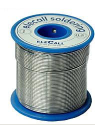 colofonia de alambre de estaño de soldadura con núcleo de alambre de soldadura 51% elecall 0.45kg 0.5mm