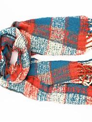 treillis les franges des femmes écharpe chaude