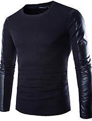 Men's Fashion Casual - Splicing Long Sleeve T-Shirt