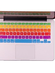 The Two Generation of Rainbow Keyboard Protective Film Skin Cover for MacBook Air /MacBook Pro/MacBook Pro Retina
