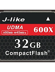 J-Like® CompactFlash Card  32GB Memory Card 600X