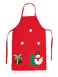 delantal de algodón decoraciones de Navidad para regalos de Navidad