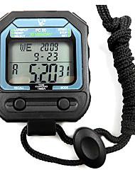 30 1 / 100s souvenirs 3 ligne de temps 10h à rebours&calendrier chronomètre numérique pour saut de sport PC80
