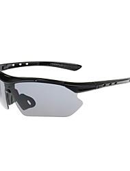 Gafas de Sol hombres / mujeres / Unisex's Clásico / Deportes / Moda / Estilo de gafas de sol Envuelva Negro / AzulCiclismo / Acampada y