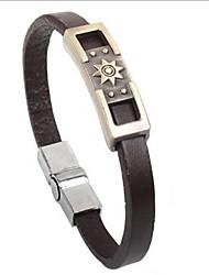 do punk sol estilo pulseira de couro liga símbolo (1 pc)