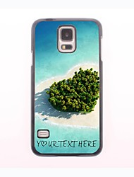 Personalized Phone Case - Heart Sea Design Metal Case for Samsung Galaxy S5 mini