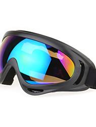 Hunting 100% UV400 Mixed Materials Wrap Fashion Sports Goggles