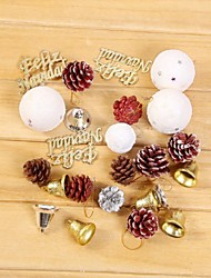Christmas Accessories Package Christmas Gift,Christmas Decoration Christmas Tree Ornament(1 Box)(Random Accessories)