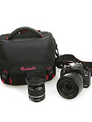 canbale single-ombro de nylon impermeável saco da câmera c10 com capa de chuva