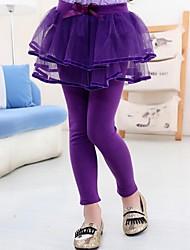 vestido de algodón legging de la muchacha (más colores)