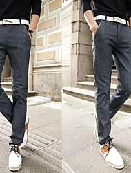 Men's Casual Pure Cotton/Cotton Blend/Denim/Linen/Polyester