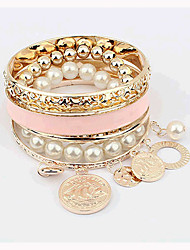 Miki Women's Fashion Joker Boho Imitation Pearl Bracelet