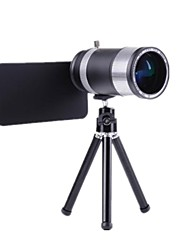 14x Zoom Aluminum Telephoto Telescope SLR Camera Phone Lens for iPhone 5/5S/5G/4S/4