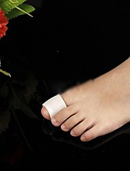 Silicon for Insoles & Inserts This foot petal can ease the pain the corn causes and the stress of your forefoot. White