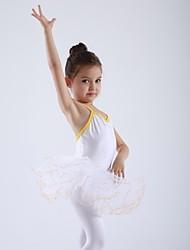 Kids' Dancewear Tops / Skirts / Tutus / Dresses Children's Cotton / Spandex / Tulle Ballet Sleeveless