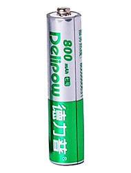 delipow 1.2v 800mAh AAA batterie rechargeable au nickel-cadmium (1pcs)