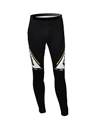 KOOPLUS Unisex Winter Cycling Clothing Thermal Fleece Cycling Pants--Black