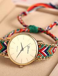 ToMoNo Handmade Rope Fashion Women Casual Watch(Assorted Color)