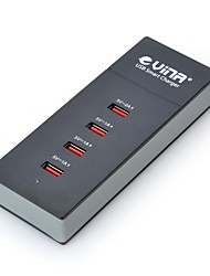 Vina ups-001 5A Safety Smart High Speed Power Adapter with 4-Port USB (US Plug)
