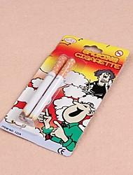 2pcs kreative Zigarette Modell Streich Trick Spielzeug