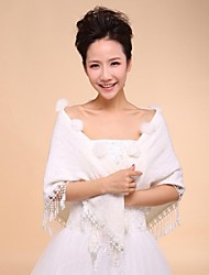 Wedding Wraps Woolen Warm Bridal Wedding Shawls With Tassel