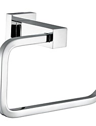 Solid Brass Chrome Finished Square Bathroom Accessories Toilet Paper Holder