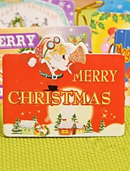 Lovely Mini Wish Card Christmas Decoration Christmas Tree Ornament(Random)(1pcs)
