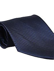 escuro gravata listrada azul