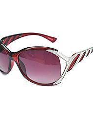 Anti-Fog Women's Oversized PC Retro Sunglasses